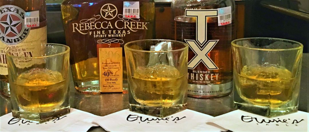 Texas whiskey flight qcshma