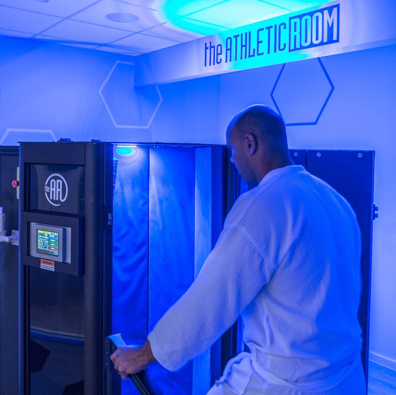 Cryotherapy room qan6fg