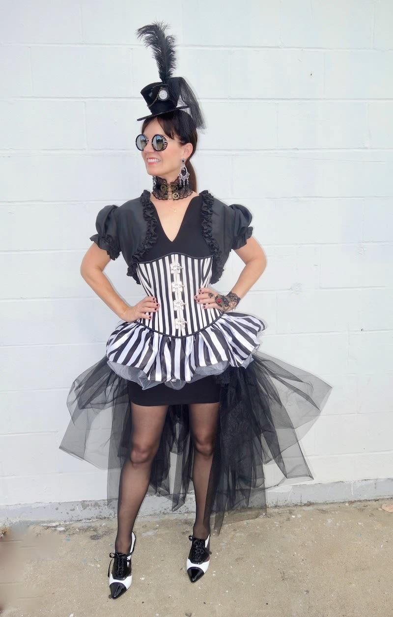 the traveling black dress: halloween steam punk edition | houstonia