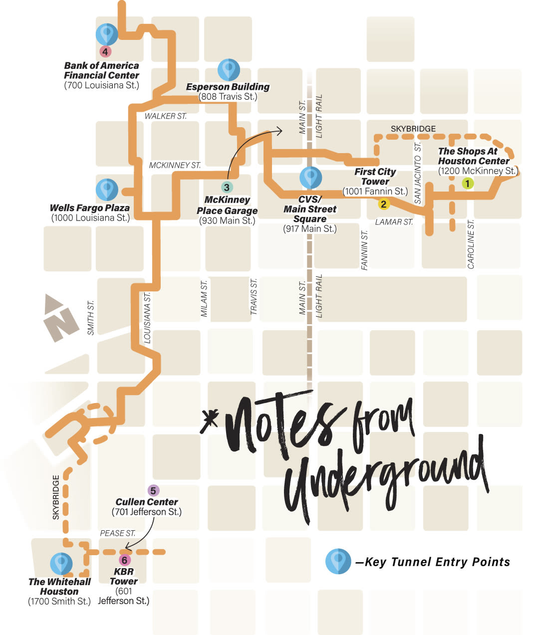 This Handy, Dandy Map Guides You Through the Downtown ... on