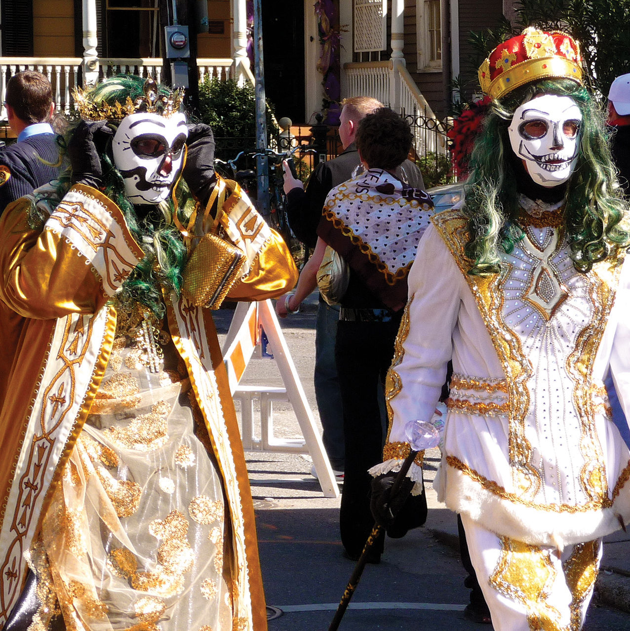 St. ann parade at mardi gras 2010 zxczzl