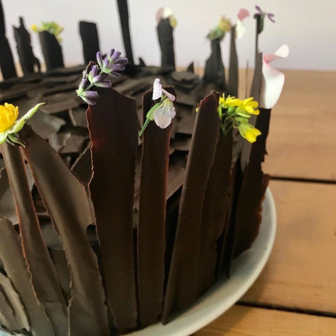 Bushel & Peck's chocolate blackout cake