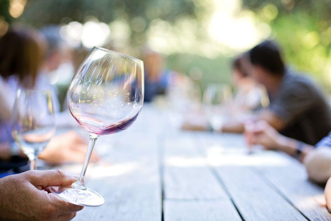 Wine pytced
