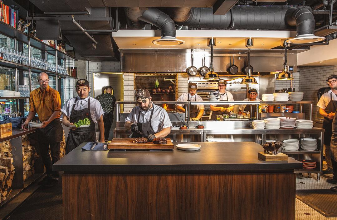 Chef Doug Adams' Bullard is a Smoke-Perfumed Meat Lair