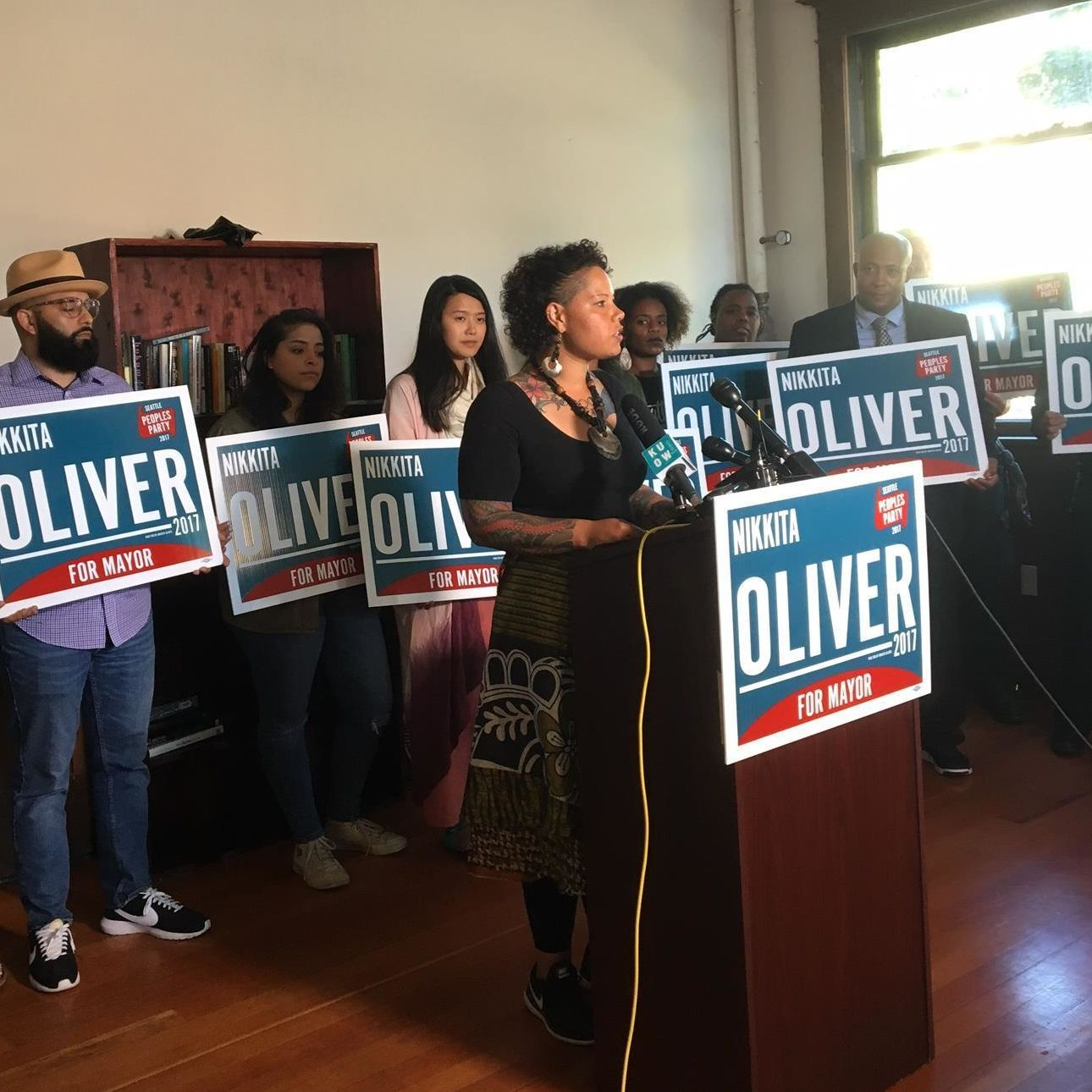 Nikkita oliver concedes washington hall 081517 w15w2k