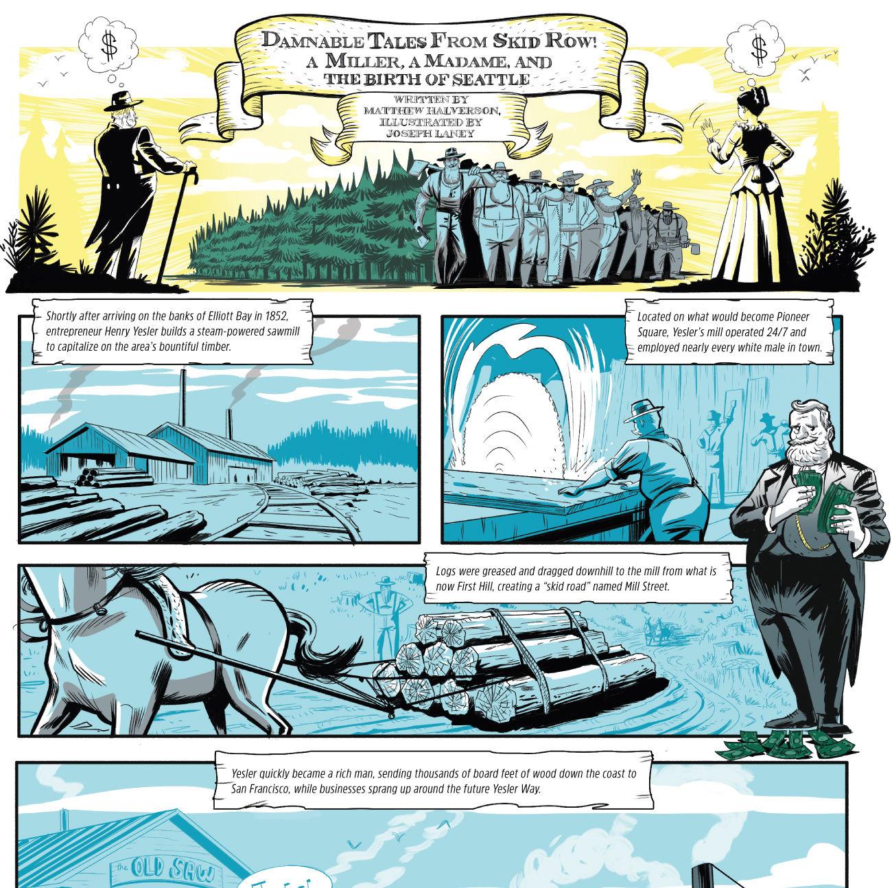 Seattle comic w9rqs8