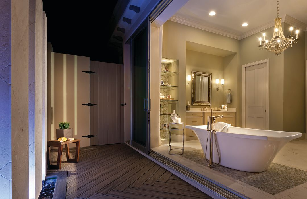 John cannon homes the victoria master bath dusk full sm l40ony