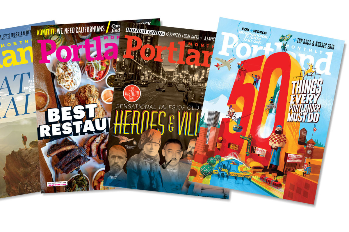 Portland Monthly Magazine Summerguide 2019 by