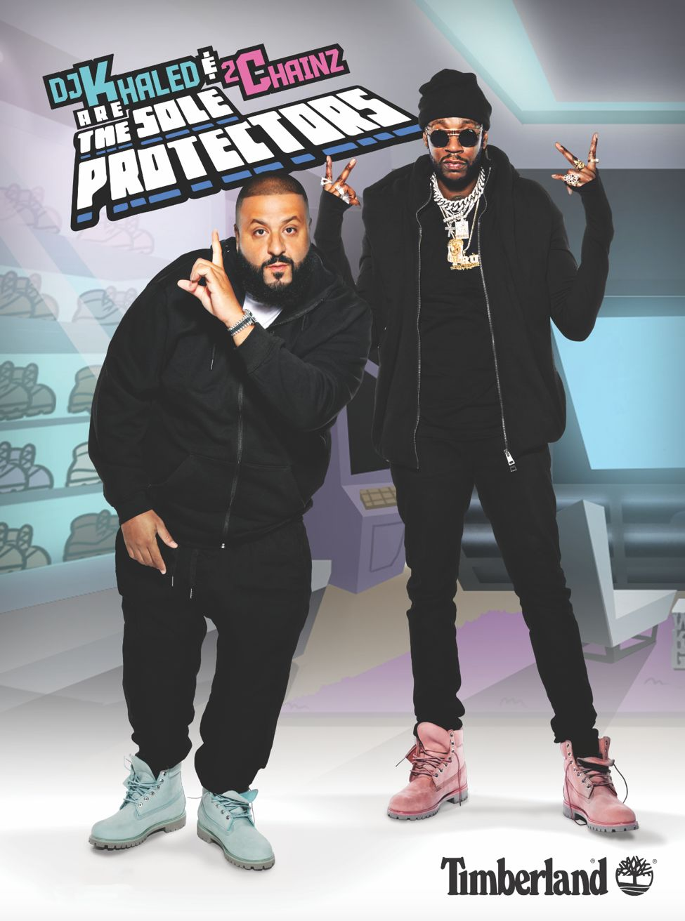 d4c5d7b9dc DJ Khaled and 2 Chainz Team Up in Their Timberlands | Seattle Met