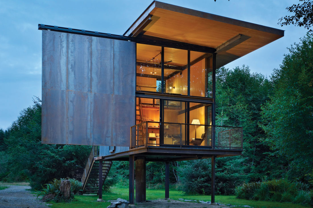 Nice Architect Tom Kundig Is The King Of Cabin Porn
