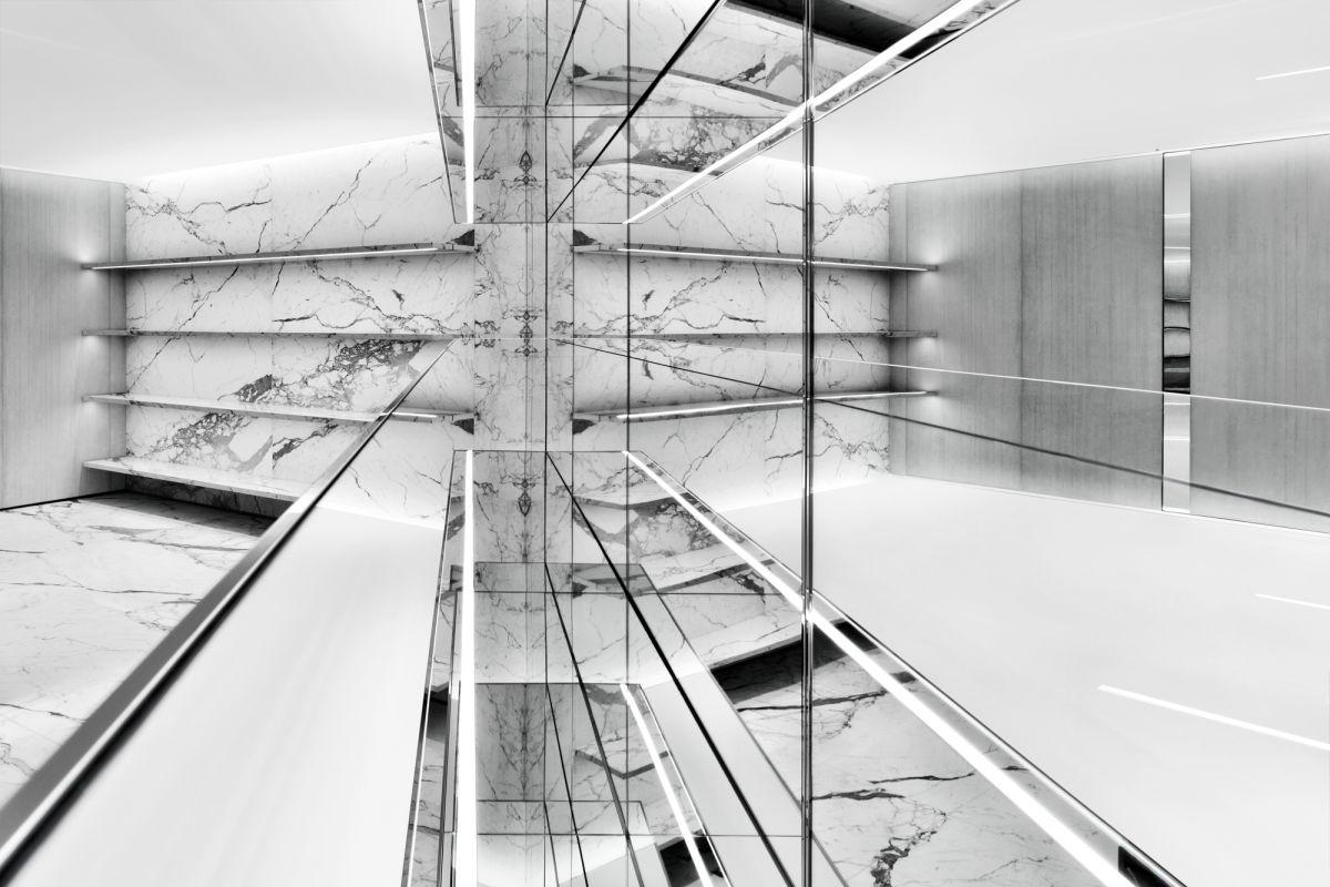 4d3821c5ebc The New Saint Laurent Store Is Giving Us Sleek Marble Realness | Houstonia