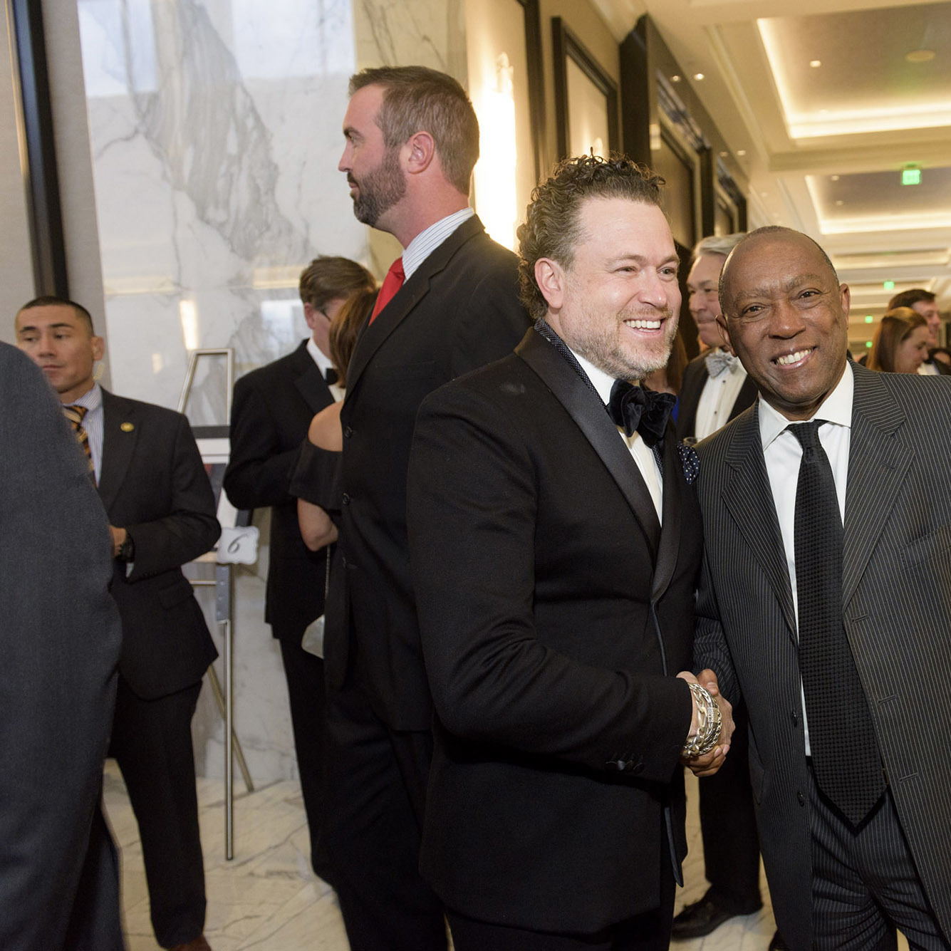 Gregg harrison and mayor sylvester turner  photo credit killy xocrcu