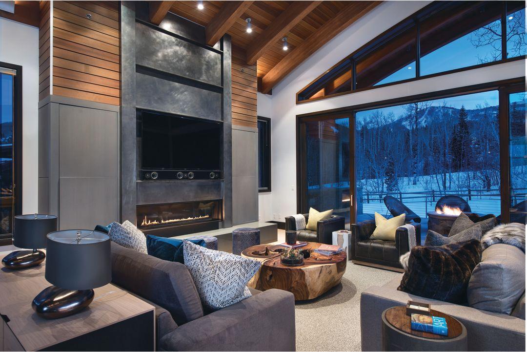 Peek Inside Laidback Luxury Mountain Retreat Park City Magazine