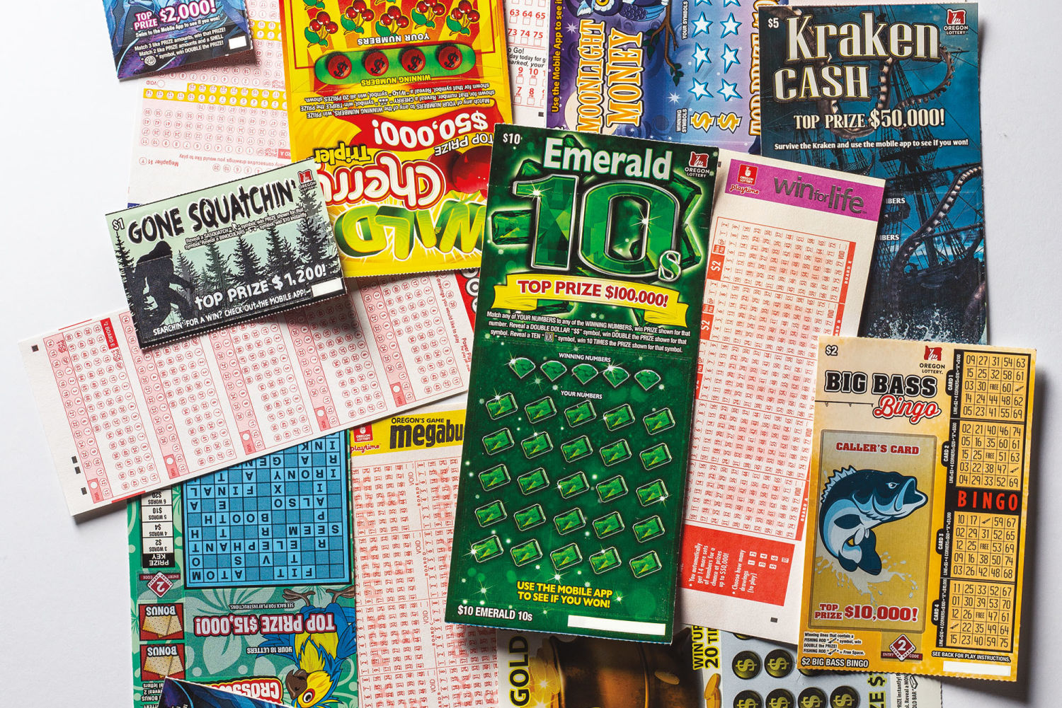 Is Oregon Addicted To The Lottery Portland Monthly