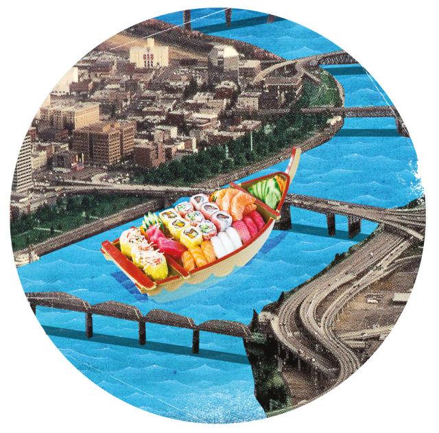 Pomo 0417 wish list sushi boat g3dboy