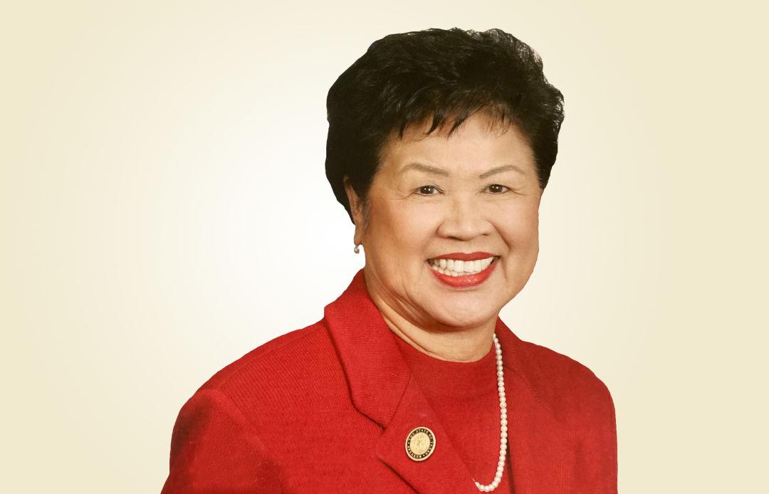 A portrait of Martha Wong