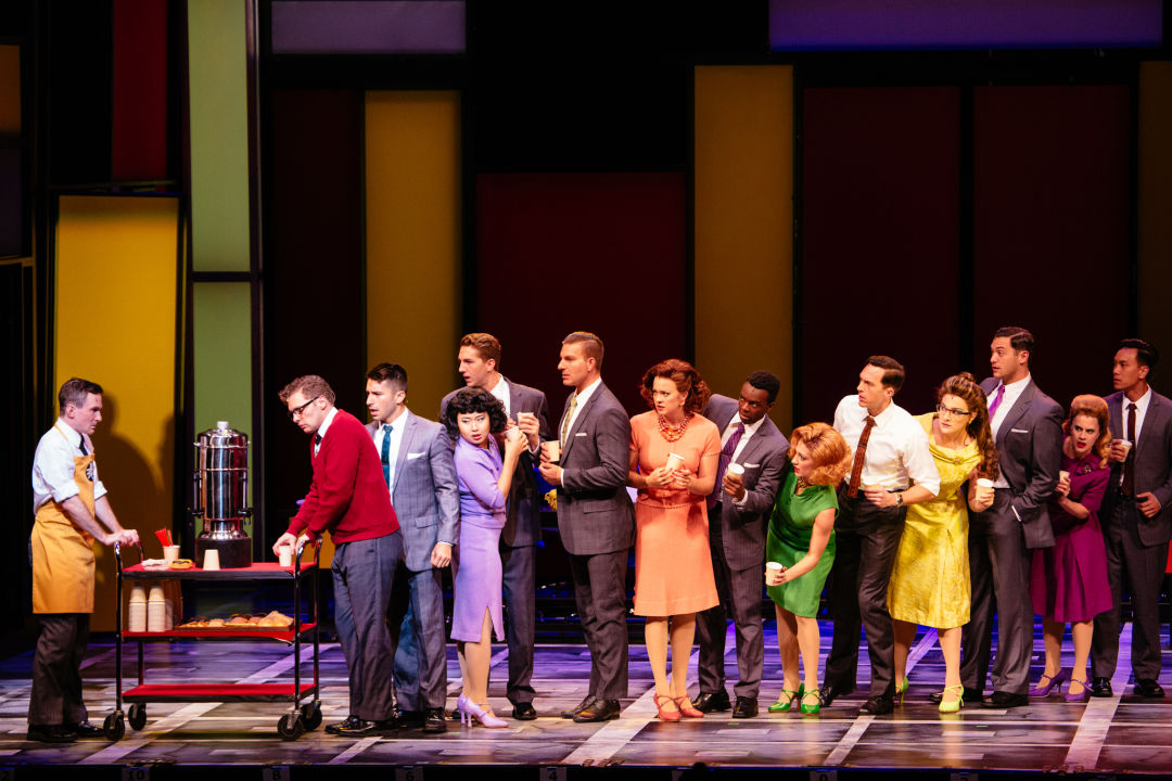 Hts 24 cast of how to succeed photo credit   os galindo rslsmy