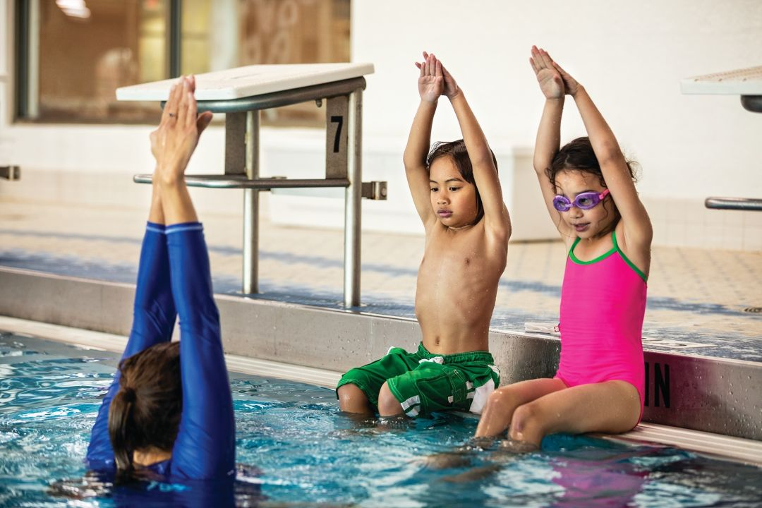 Little swimmers get lessons at Our Y