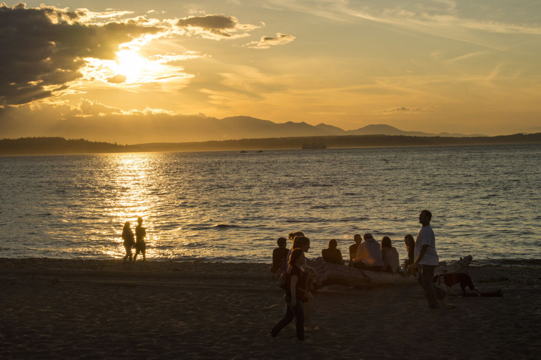 Alki beach seattle parks july 2015 vqeypu