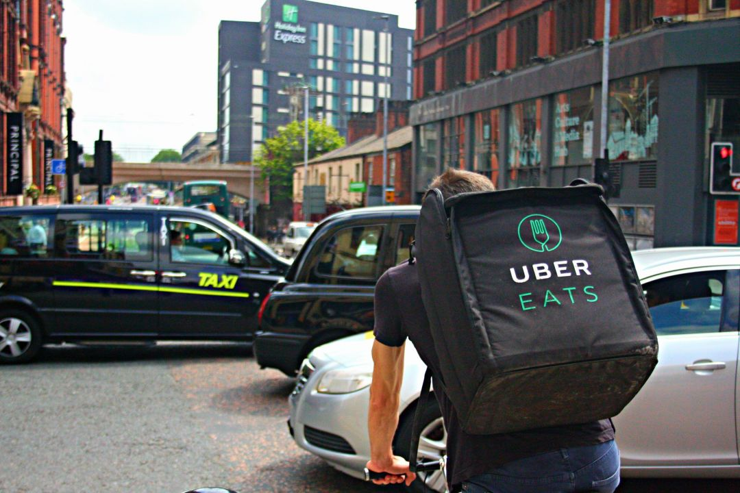 UberEats delivery rider