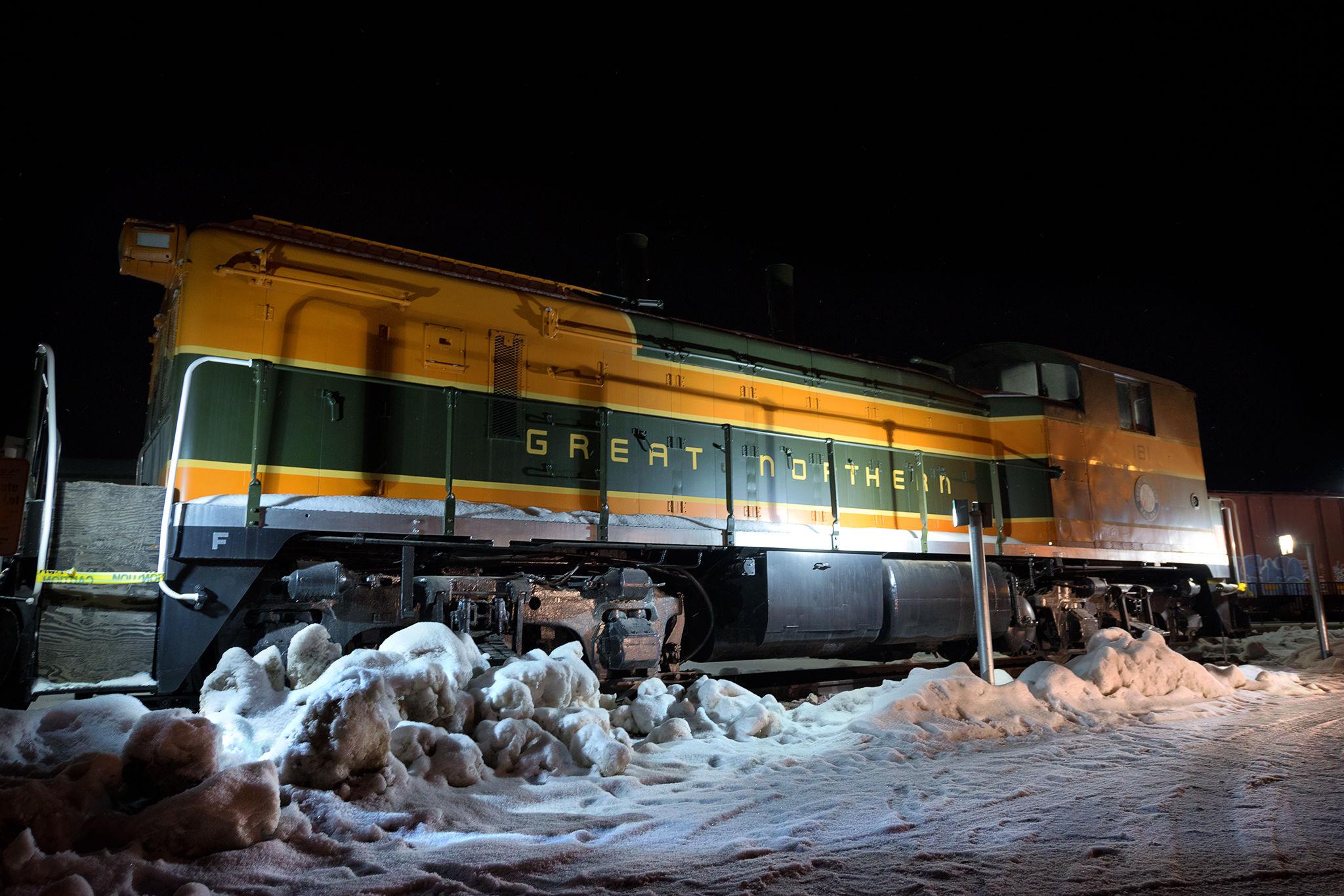 Whitefish train station  empire builder   samantha levang cr7cvc