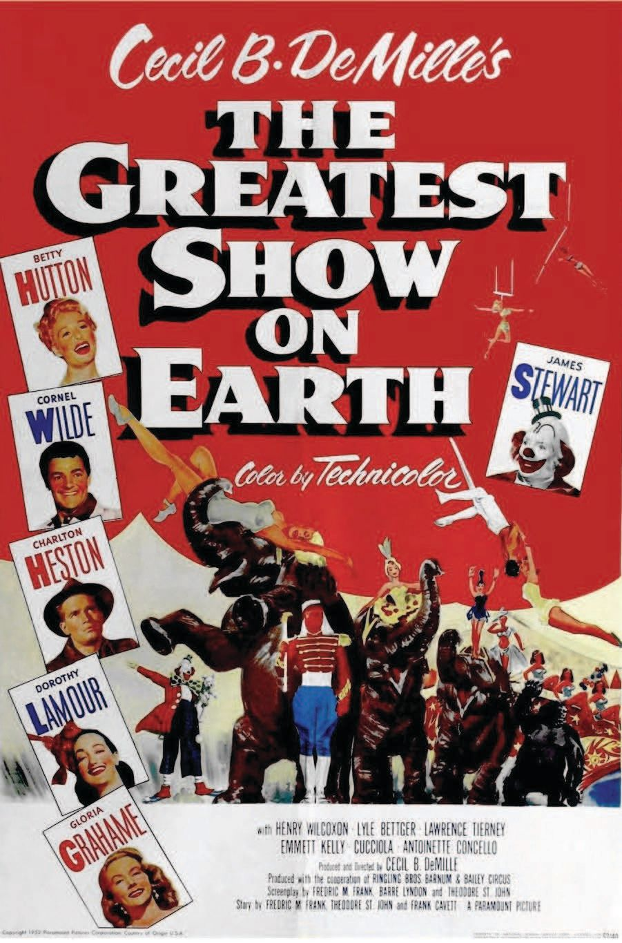 Greatest show on earth rkrcbt