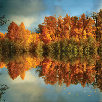 F036 fall reflections in easton ponds  wa correct erf3oz