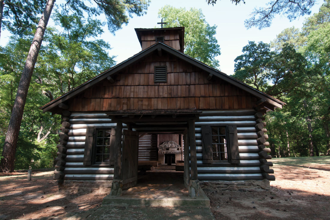 For The History Hounds: Mission Tejas State Park