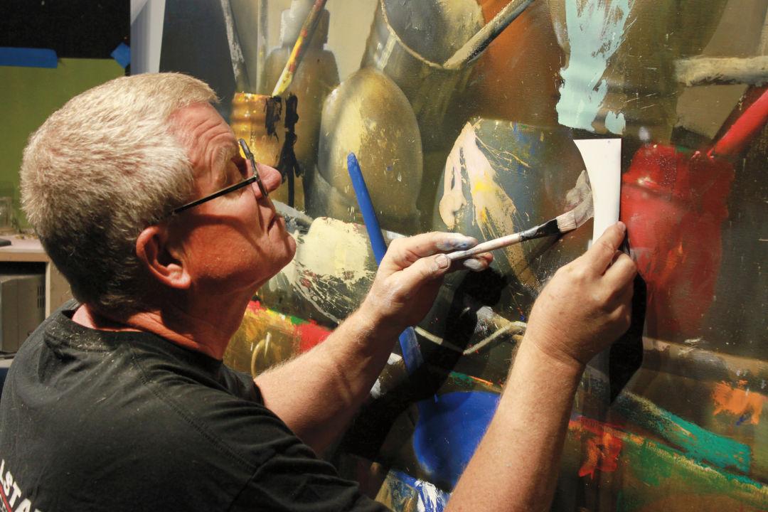 Dornan painting cqovba