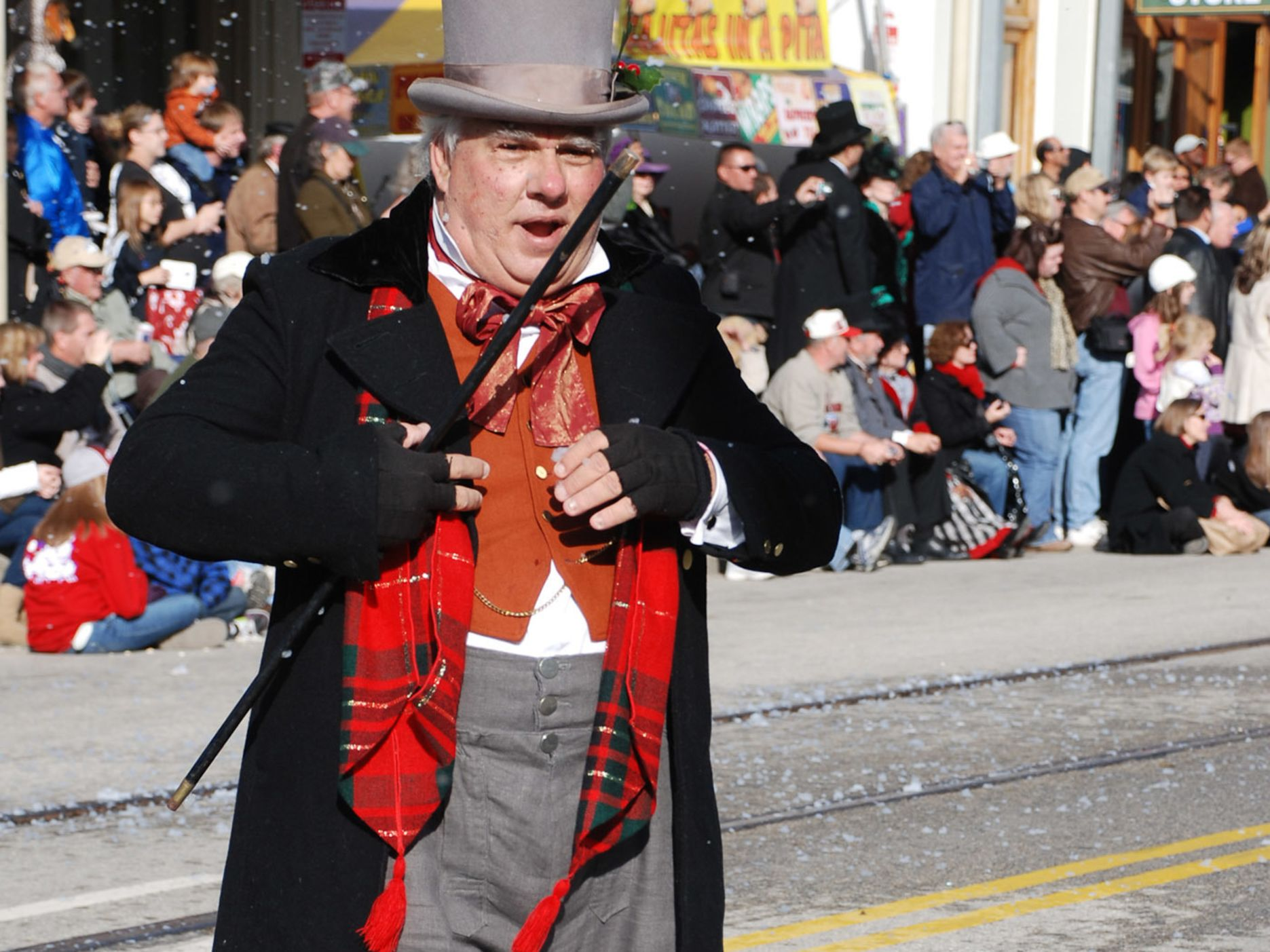 Dickens character in parade df2be8
