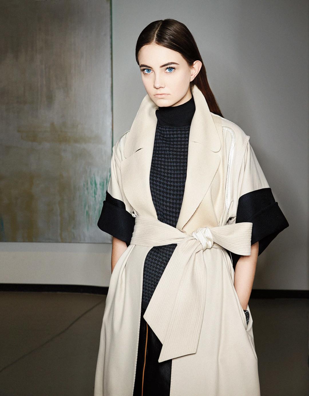 0215 plain spoken cream black jacket an2vsa