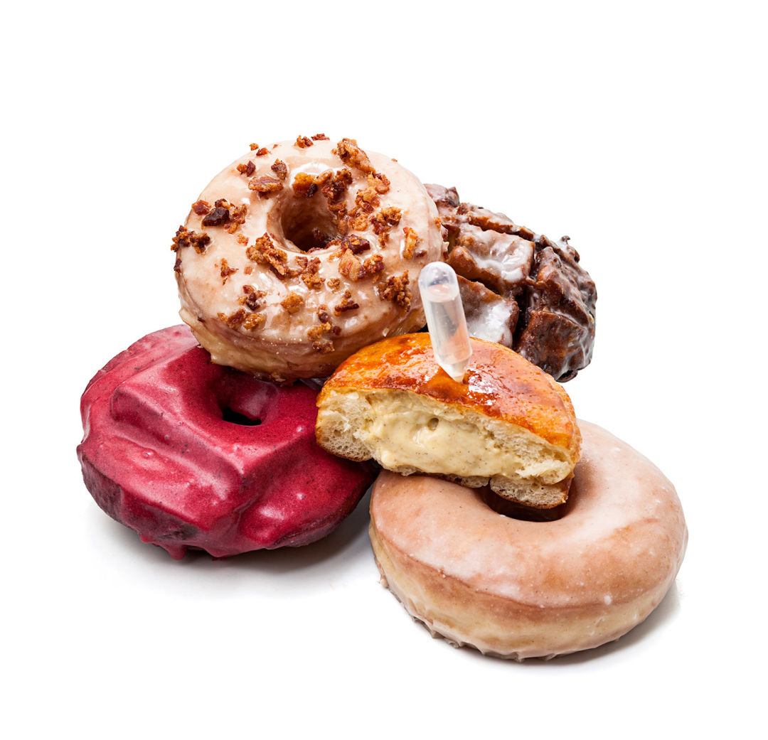Image result for blue star donuts