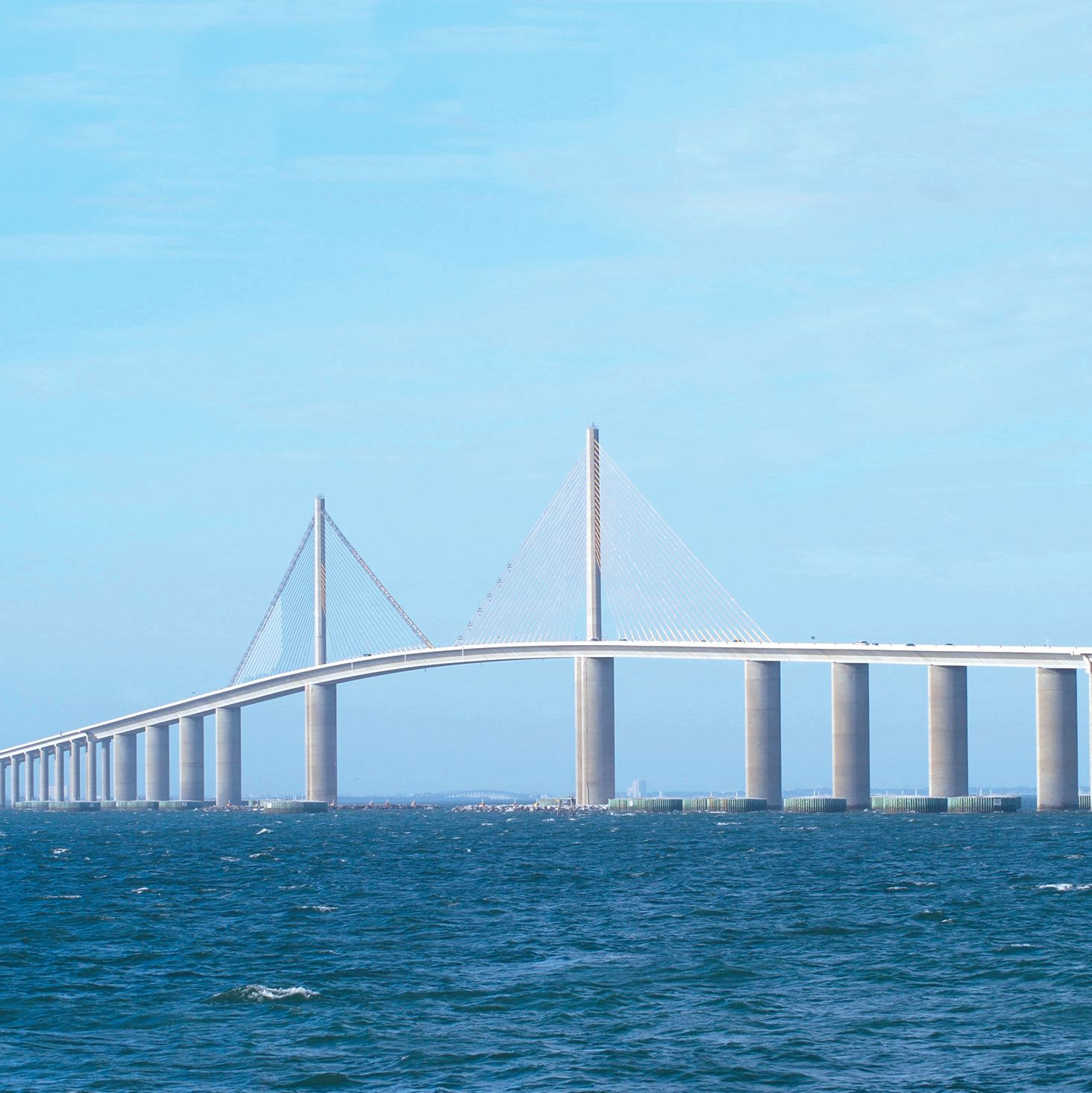 Sunshine skyway bridge on tampa bay   panoramio fqvlyv