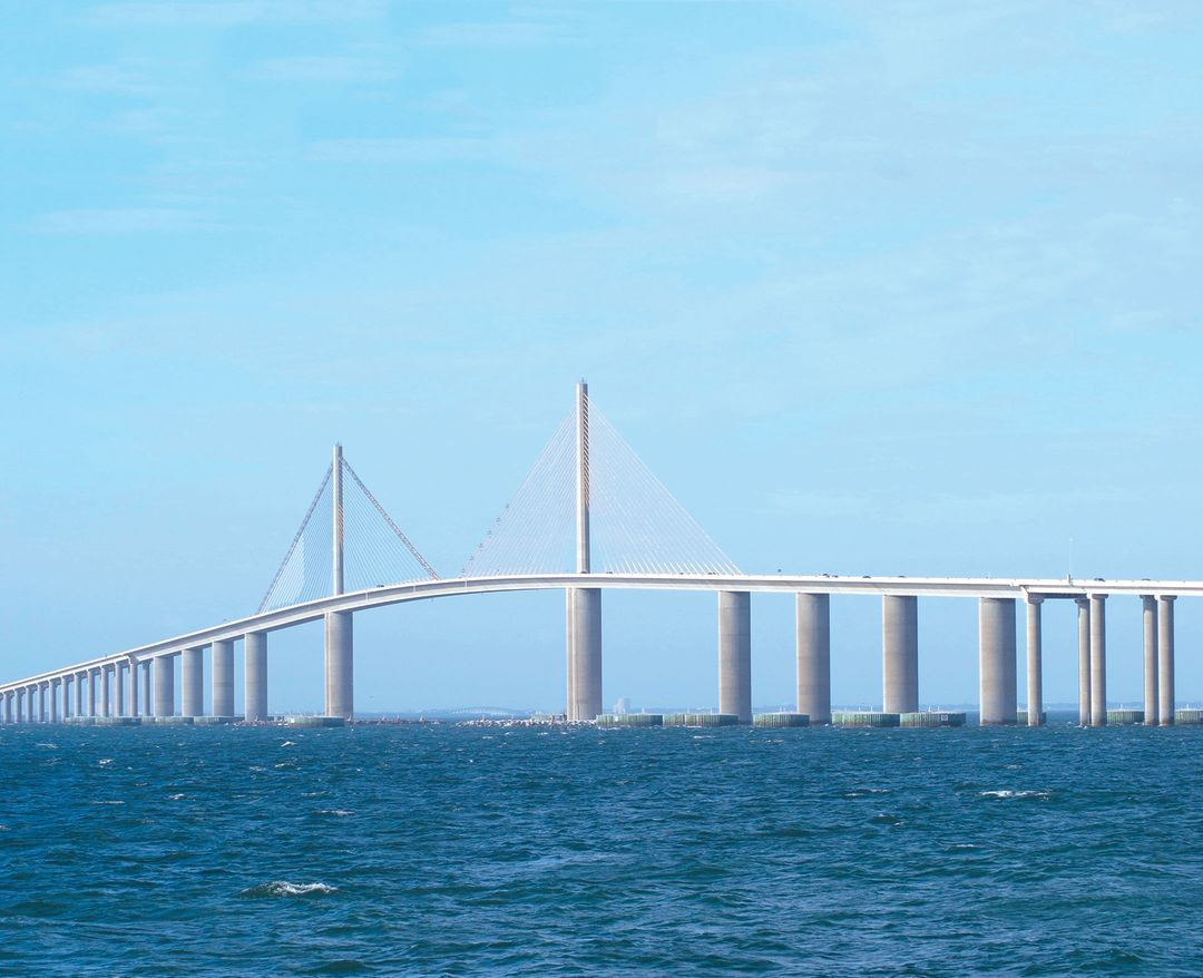 Sunshine skyway bridge interesting facts best bridge 2018 for Skyway bridge fishing