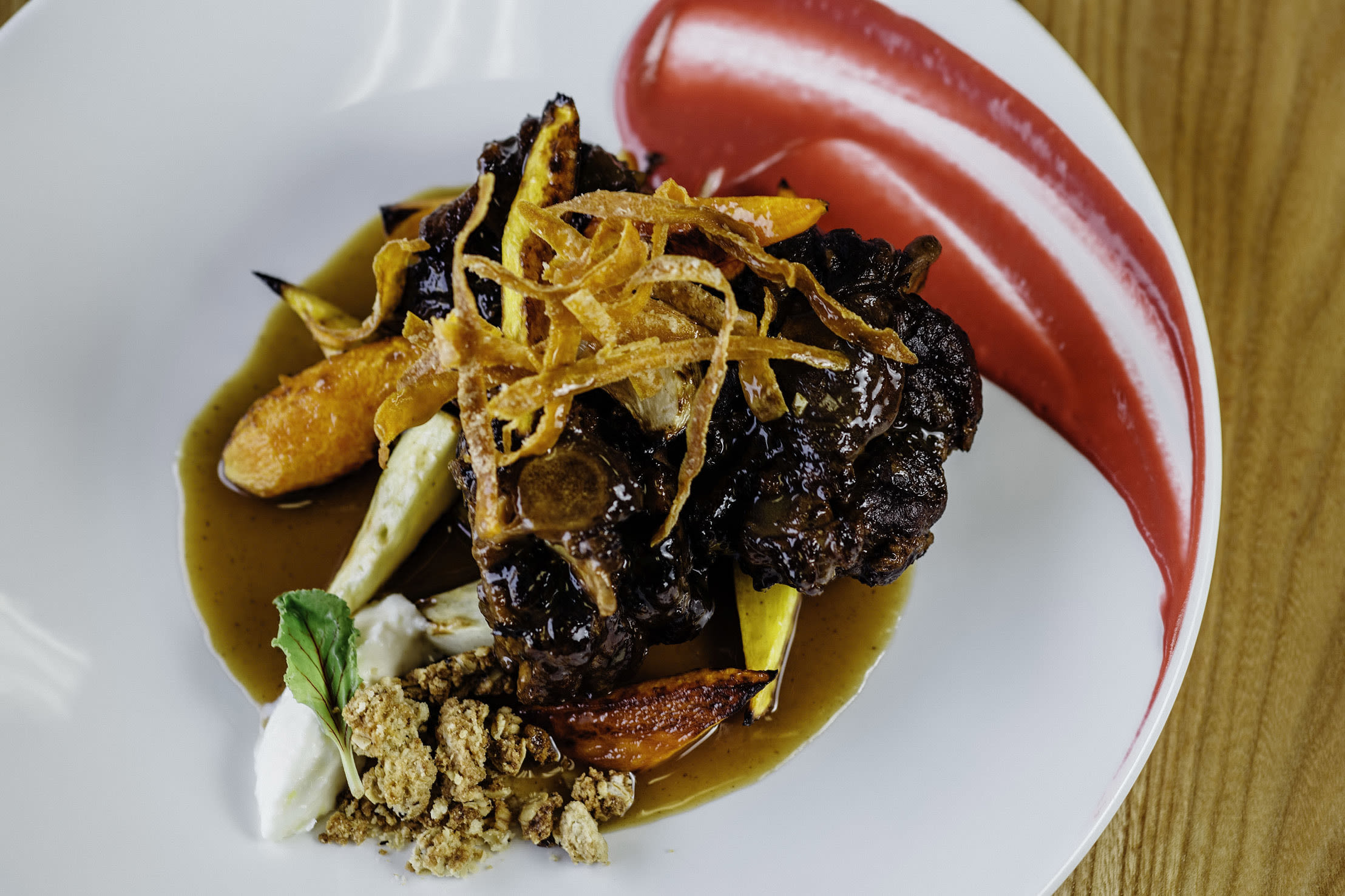 Heartwood provisions wagyu braised oxtail itvtpg