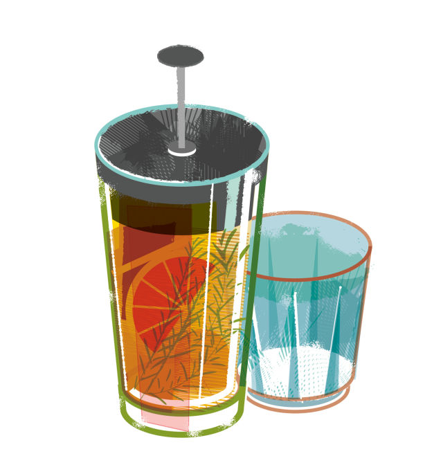 Pm americano french press cocktail jjn28w