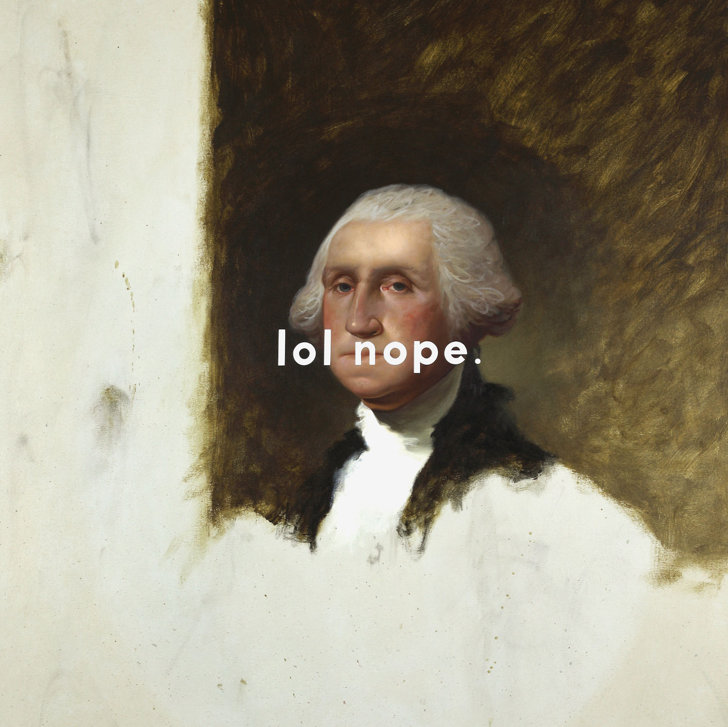 Huckins george washington  the athenaeum portrait  laughing out loud nope hires ij2vlq