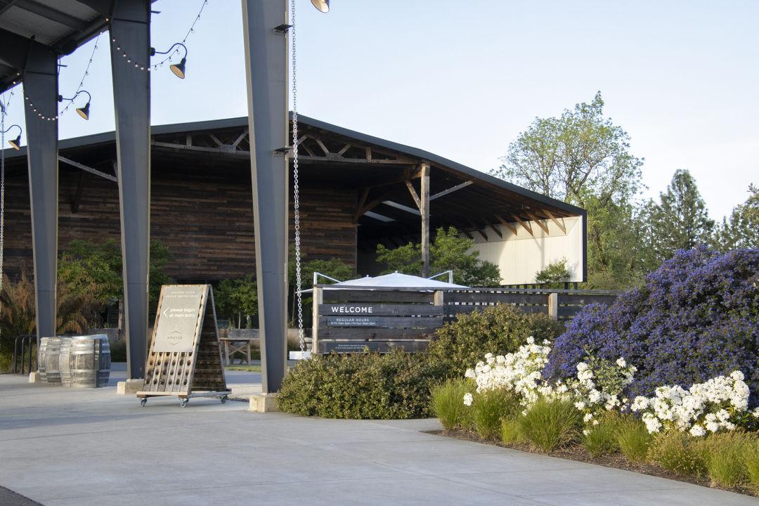 Argyle Winery landscaping