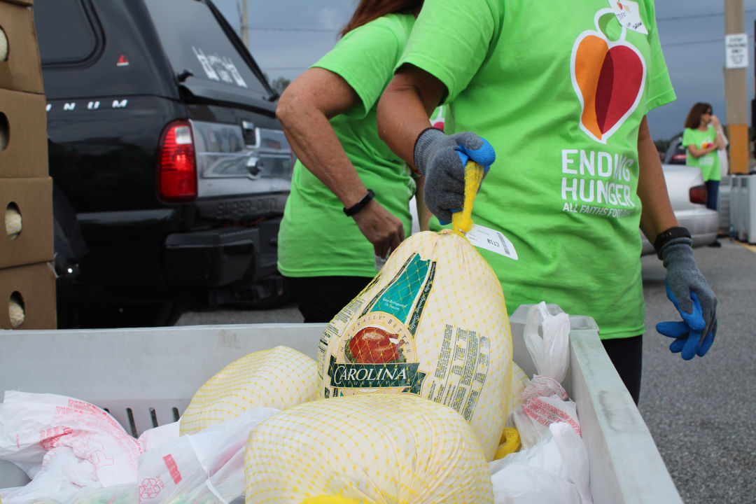 All Faiths Food Bank has 120 percent increase in food distribution and a 45 percent increase in new clients at mobile pantry distributions since mid-March.