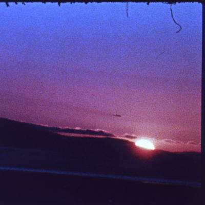 Edited andy warhol  sunset  1967   c  awm yq4swr