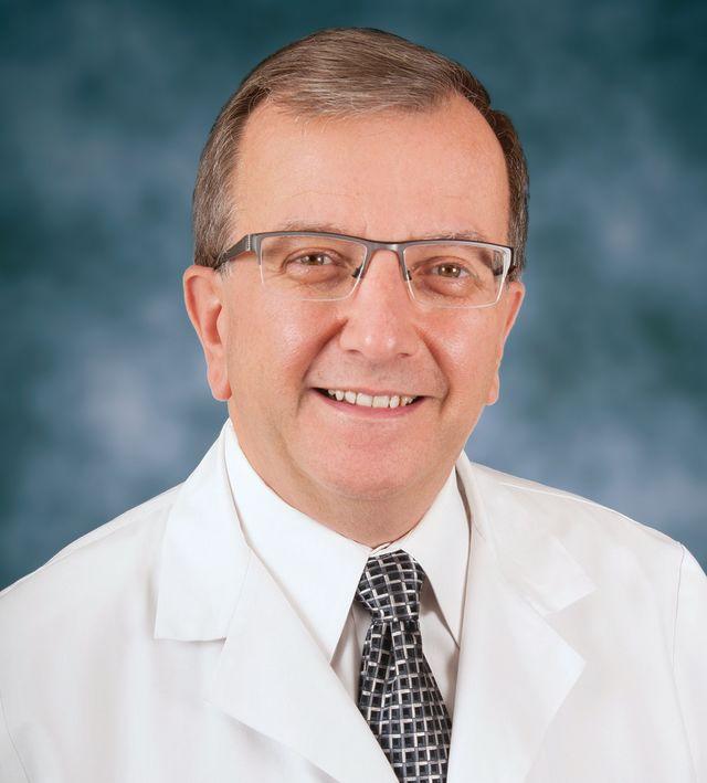 Sarasota Memorial Healthcare System chief medical officer Dr. James Fiorica