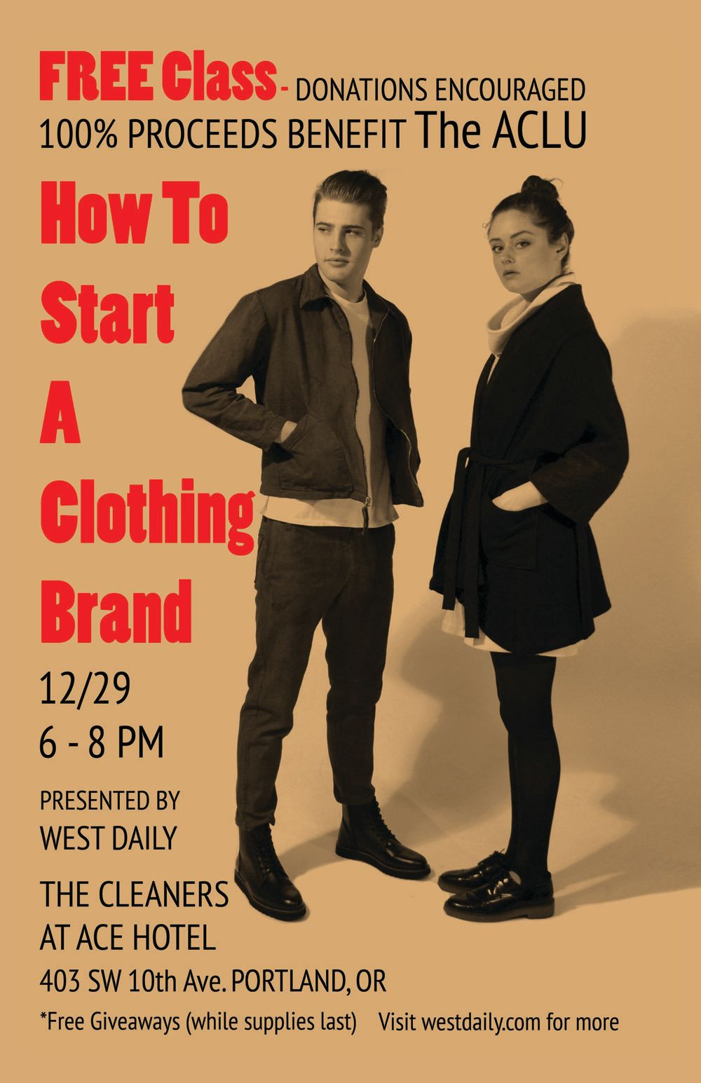 West daily clothing class tjfqmf