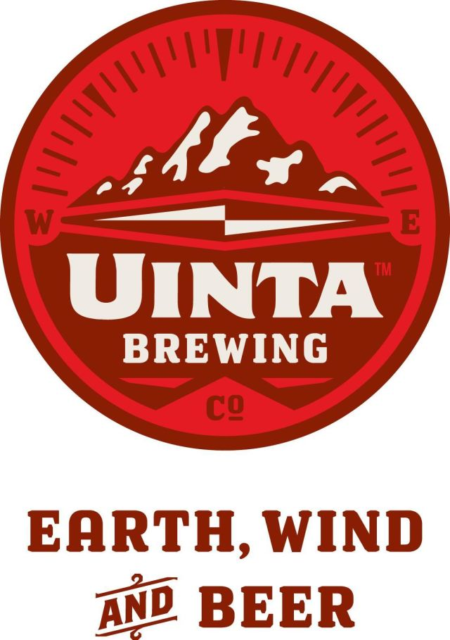 Uinta brewing co. compass logo with ewb xmwdw9