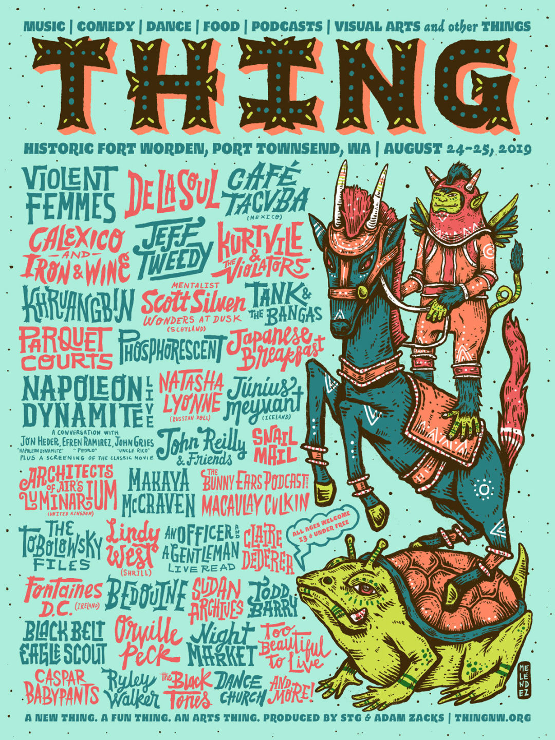 Thing Festival Released Its Lineup and It Sounds Great