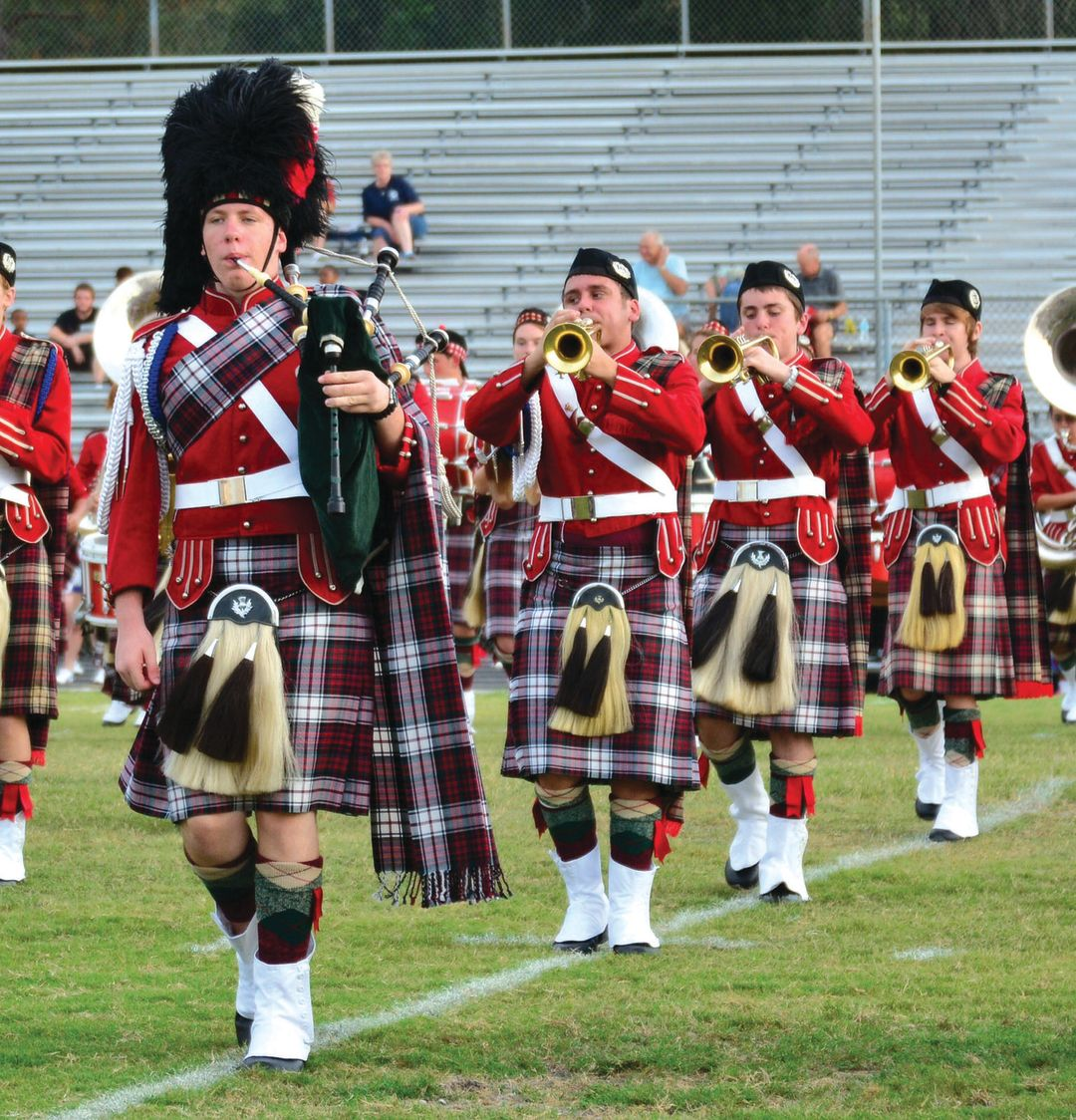 Riverview high kilties piper and brass v3fize