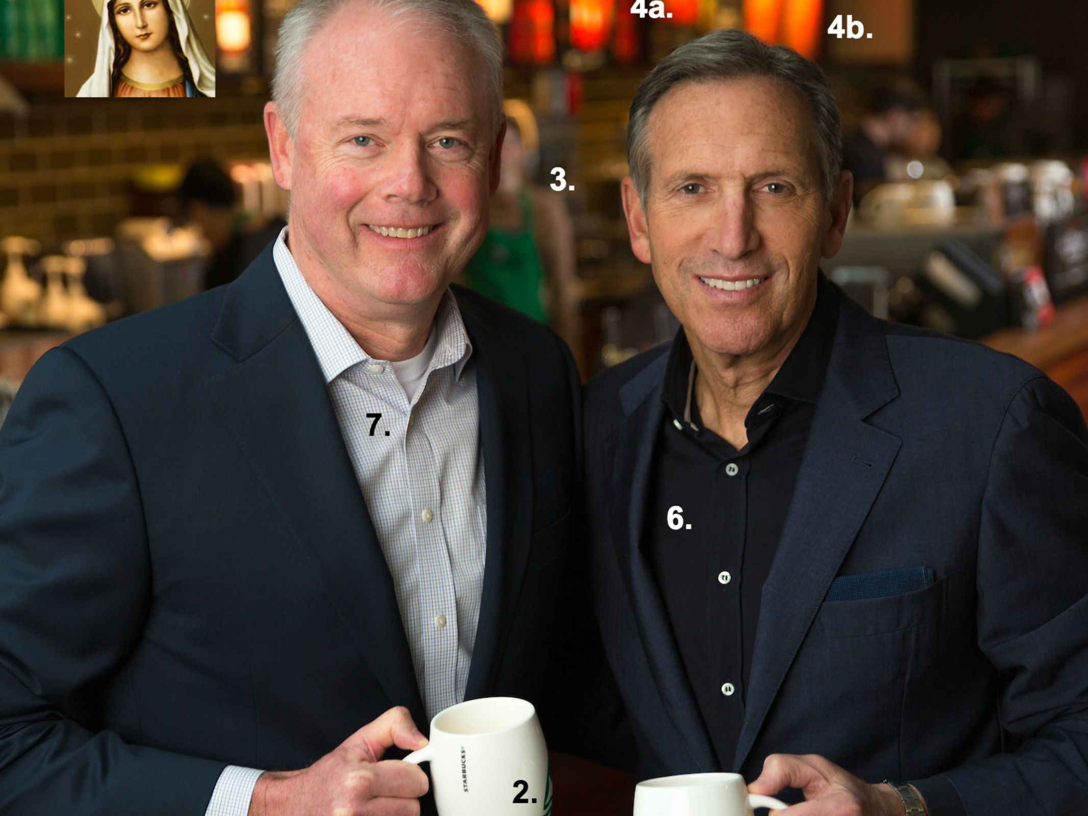 Howard schultz and kevin johnson  edit  gyia6o