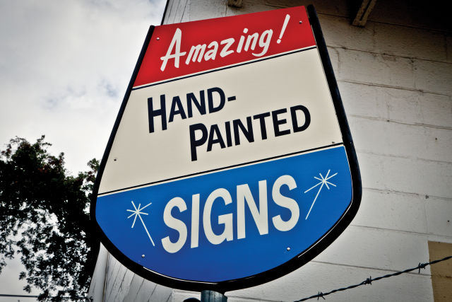 0917 fall arts guide hand painted signs ncyzdx