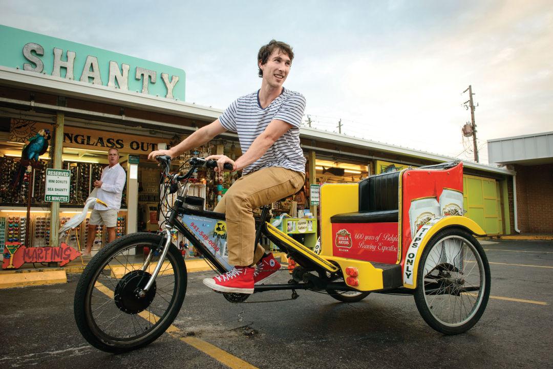 Isaac eger pedicab ms3xsr