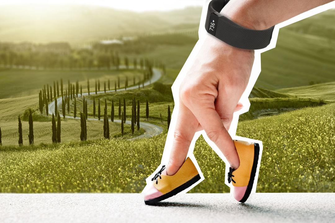 Senior editor Ilene Denton's moment of joy: getting in her 10,000 steps each day.