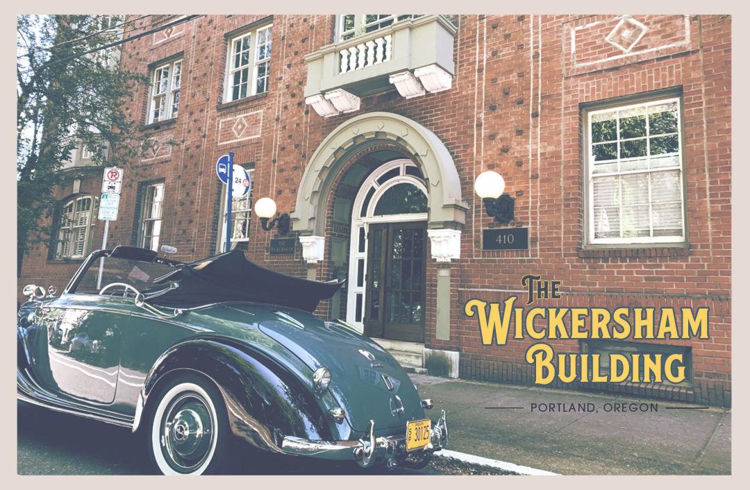 Wickersham Building in Portland, Oregon